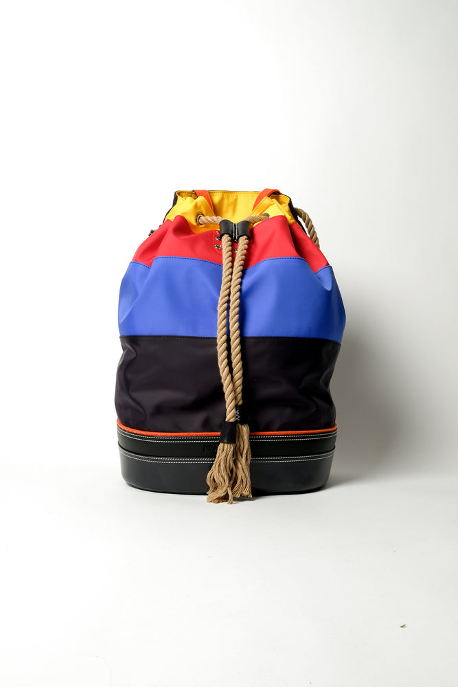 JW Anderson Sailor Backpack In Navy