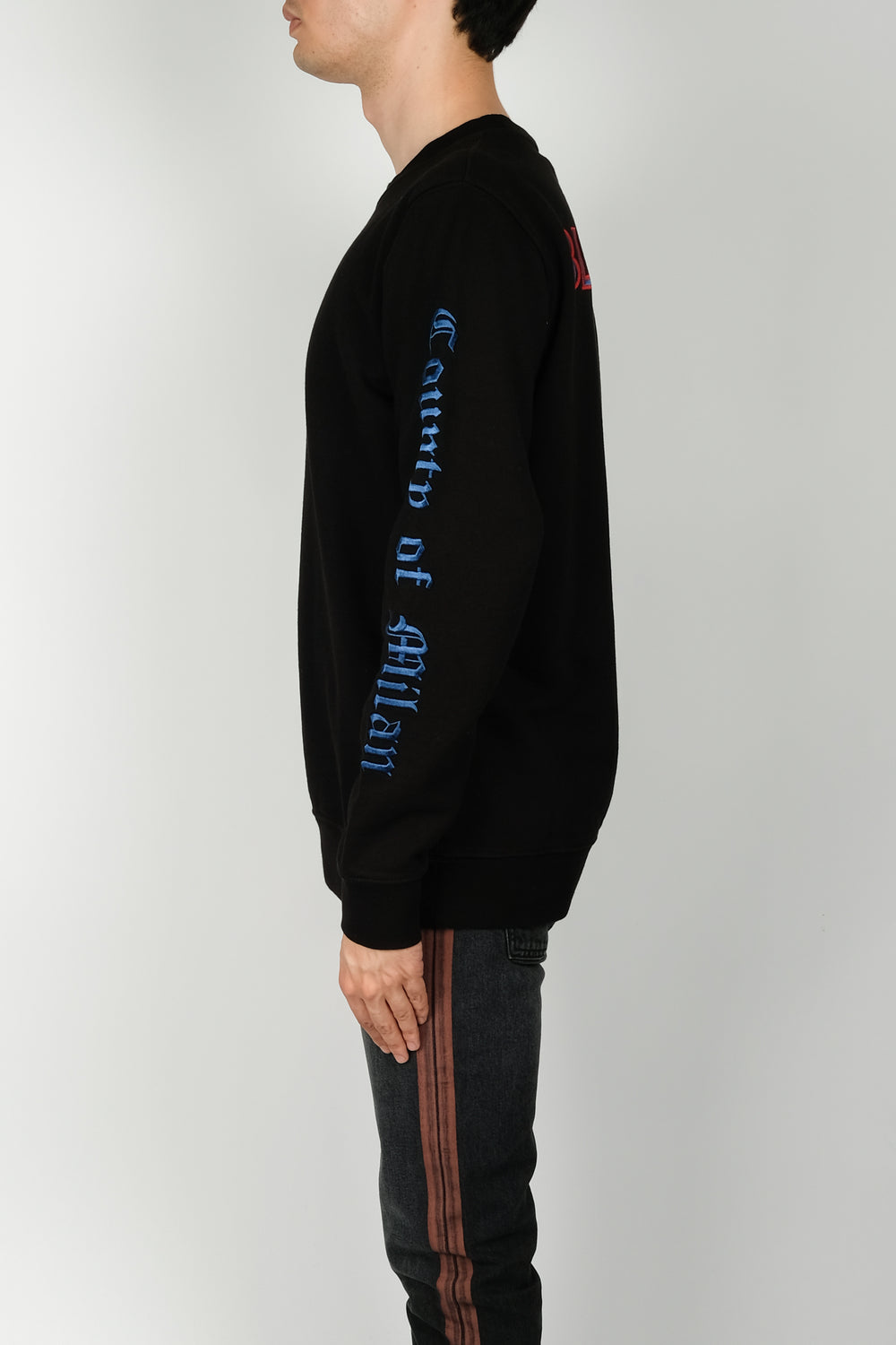 Marcelo Burlon TO Blue Jays Crewneck In Black
