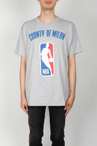 Marcelo Burlon NBA T-Shirt In Light Grey