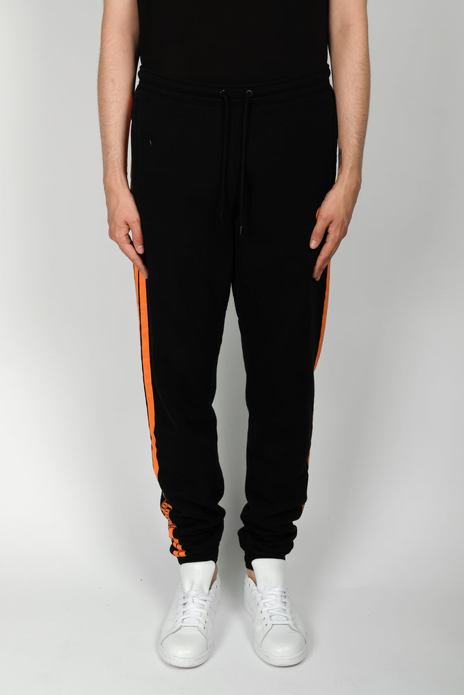 Marcelo Burlon Stripes County Sweatpants In Black - CNTRBND