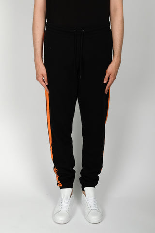 Marcelo Burlon Stripes County Sweatpants In Black
