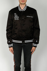 Marcelo Burlon LA Dodgers Outerwear In Black