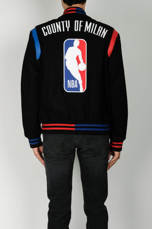 Marcelo Burlon NBA Outerwear In Black