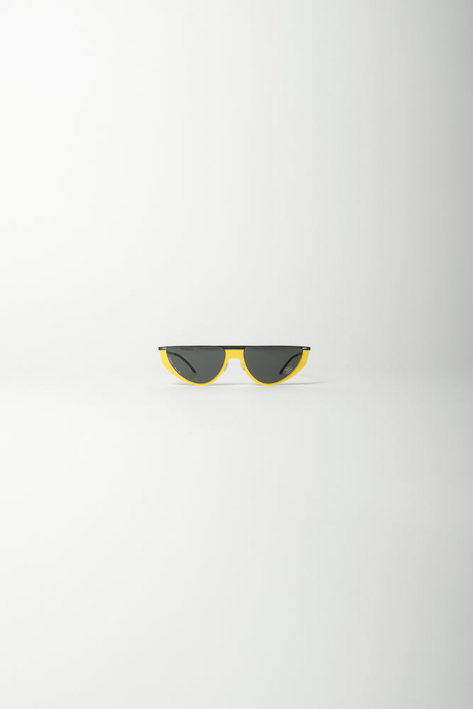 MYKITA X Martine Rose Selina Sunglasses In Yellow