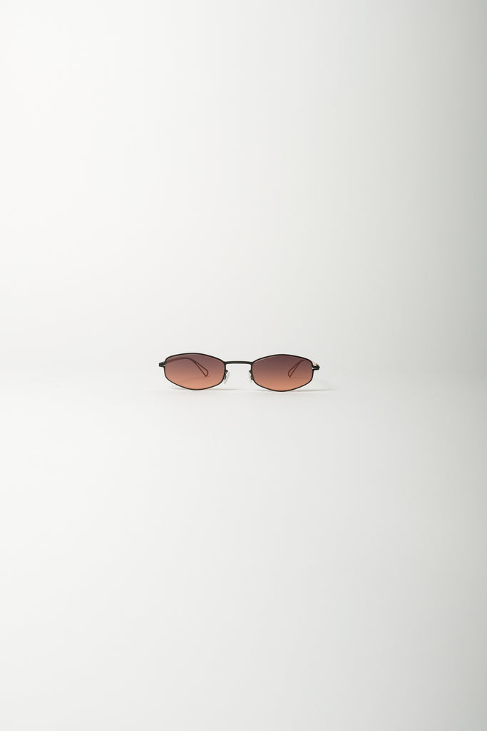 MYKITA X Bernhard Willhelm Silver Sunglasses In Black/Pow