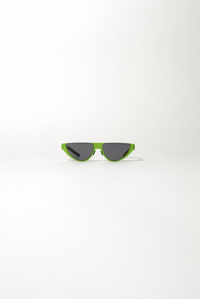MYKITA X Martine Rose Kitt Sunglasses In New Lime