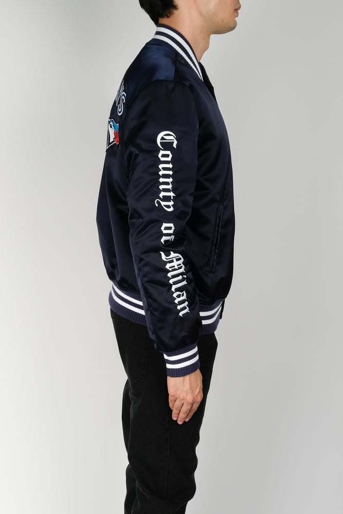 Marcelo Burlon TO Blue Jays Outwear In Blue - CNTRBND