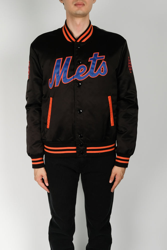 Marcelo Burlon NY Mets Outwear In Black - CNTRBND