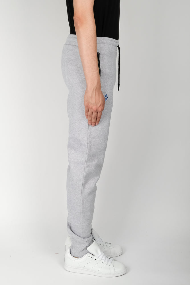 Marcelo Burlon NBA Sweatpants In Light Grey - CNTRBND