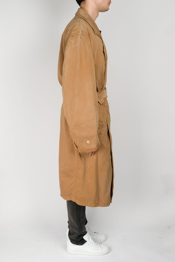 YEEZY Season 6 Trench Coat In Sand - CNTRBND