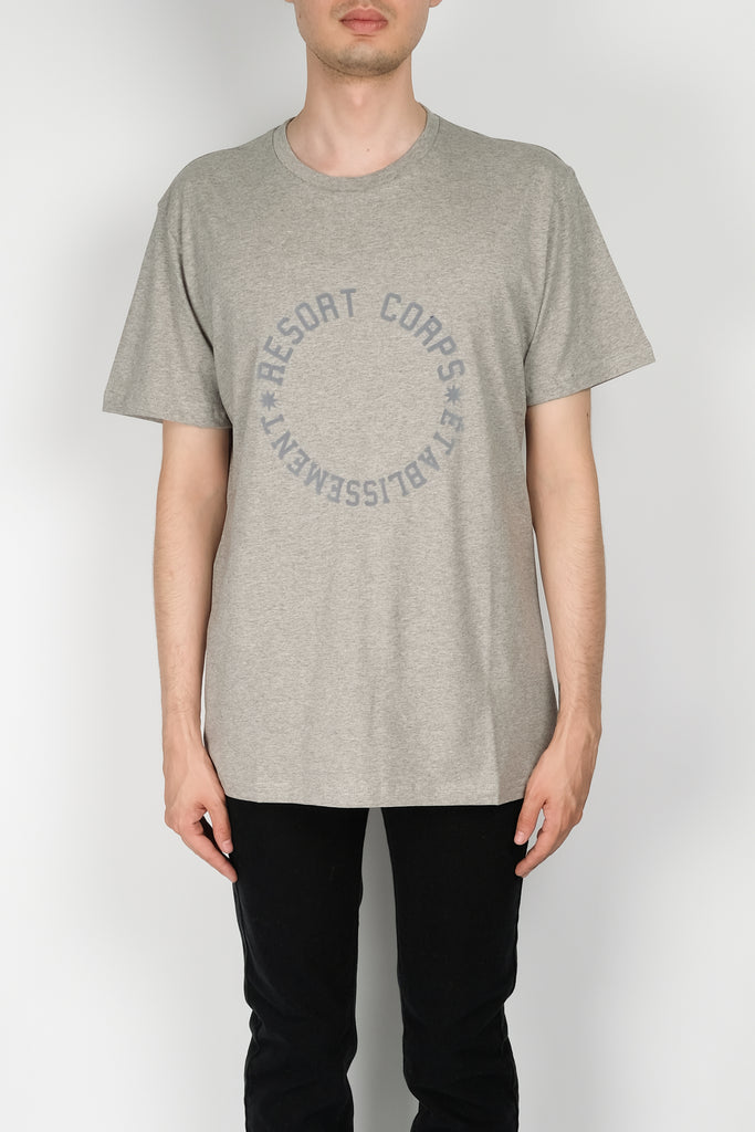Resort Corps Varsity Etablissement T-Shirt In Grey