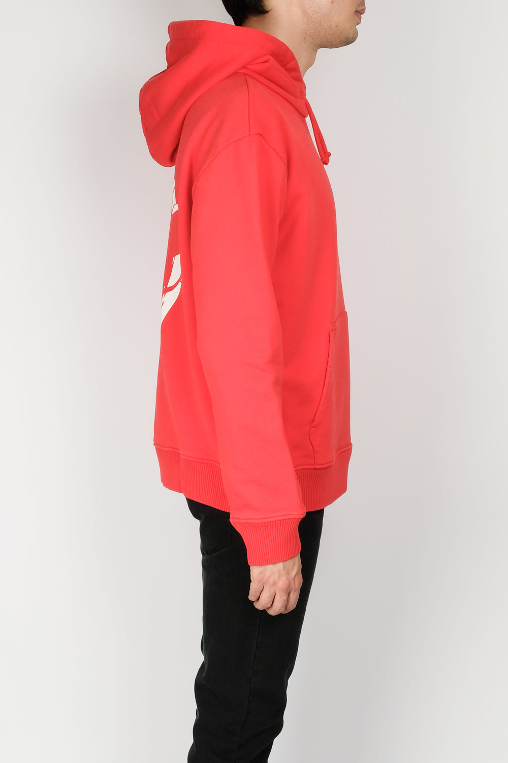 Resort Corps Fractured Hooded Sweater In Red