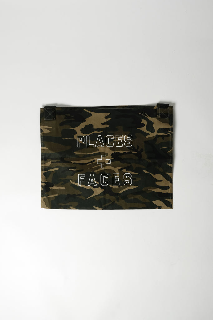 Places+Faces Tote Bag In Camo