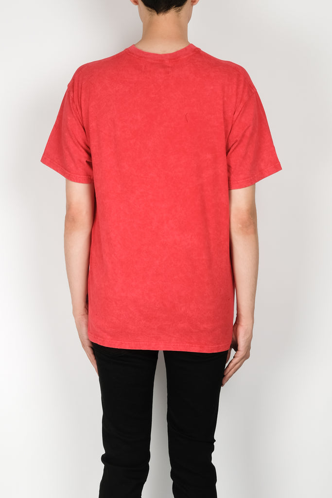 Represent X CNTRBND Exclusive Washed T-Shirt In Red