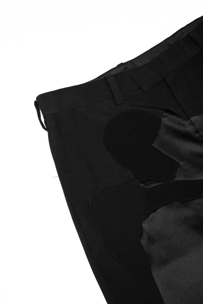 UNDERCOVER Dracula Patch Trousers In Black