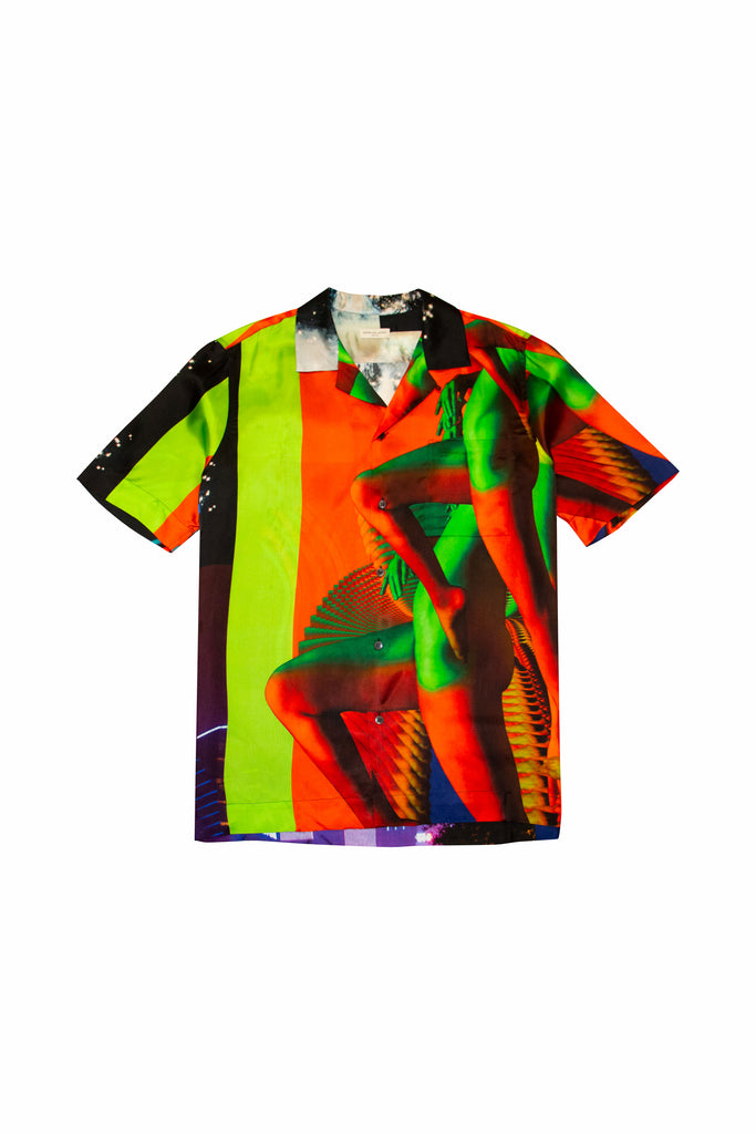 Dries Van Noten Carltone Print Shirt In Multi