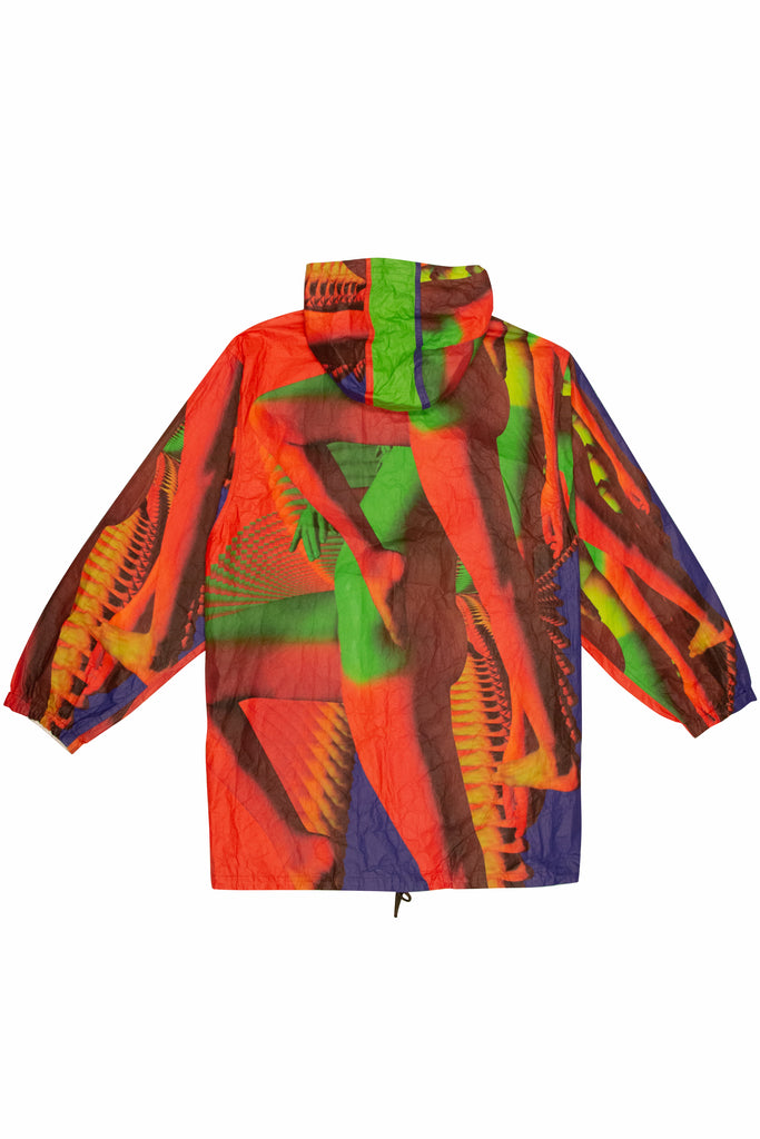 Dries Van Noten Veiss Reversible Print Jacket In Multi