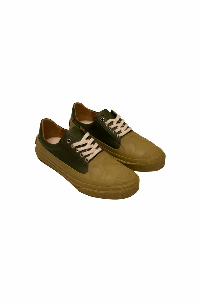 Load image into Gallery viewer, Dries Van Noten Rubber Wrap Sneaker In Olive