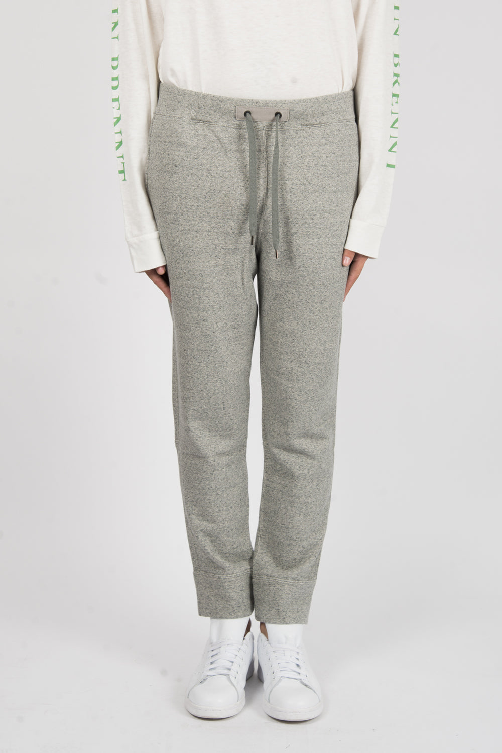 Robert Geller The Sweat Pant In Grey Melange