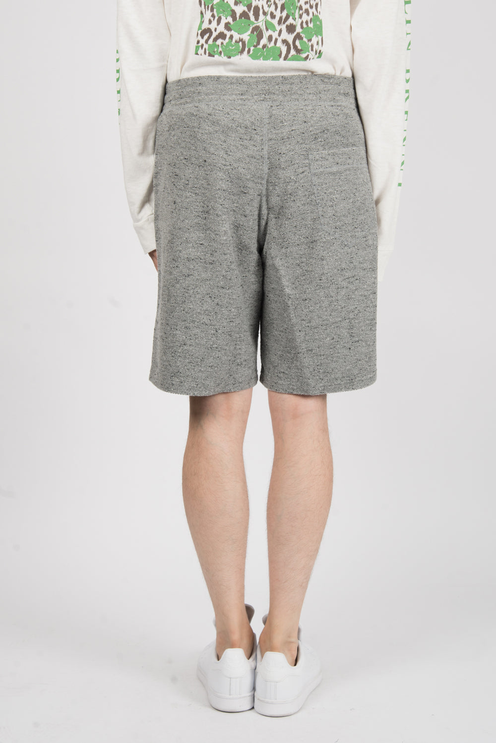 Robert Geller The Richard Short In Grey Melange