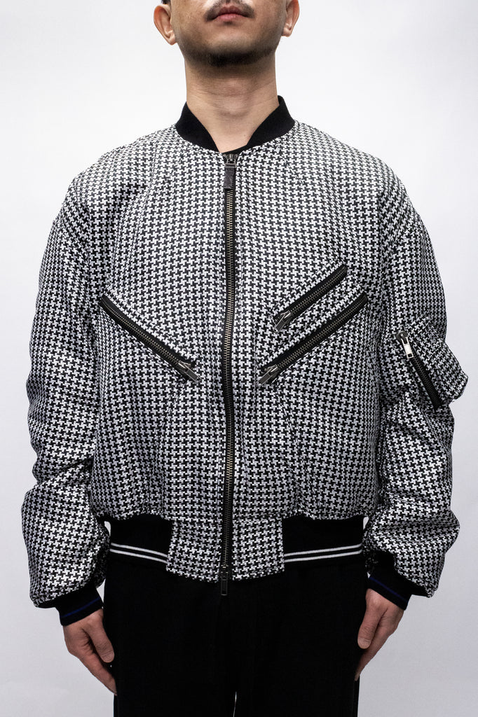 Haider Ackermann Daytona Bomber Jacket In Black