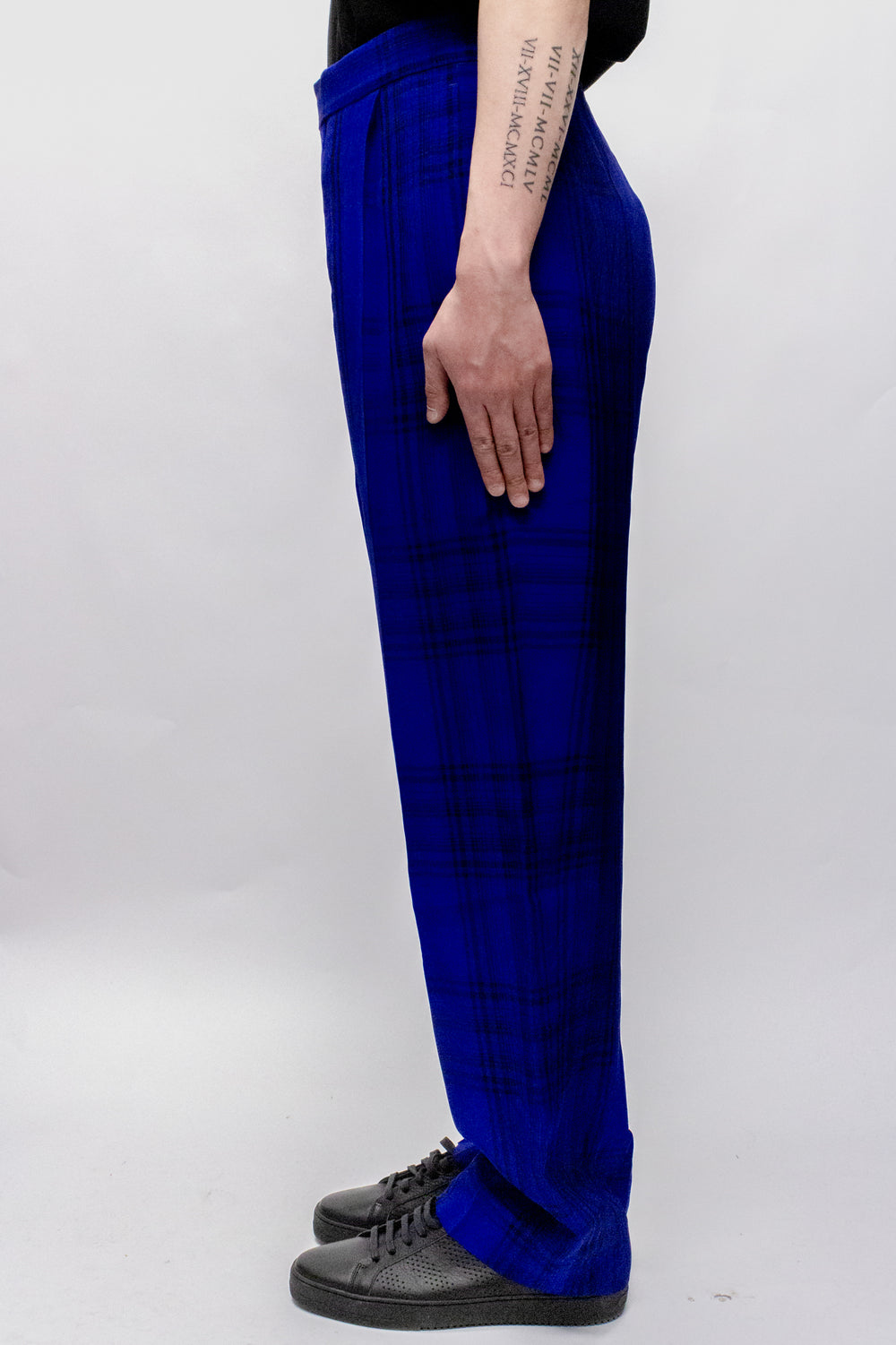 Haider Ackermann Montauk Elastic Waistband Trousers In Blue