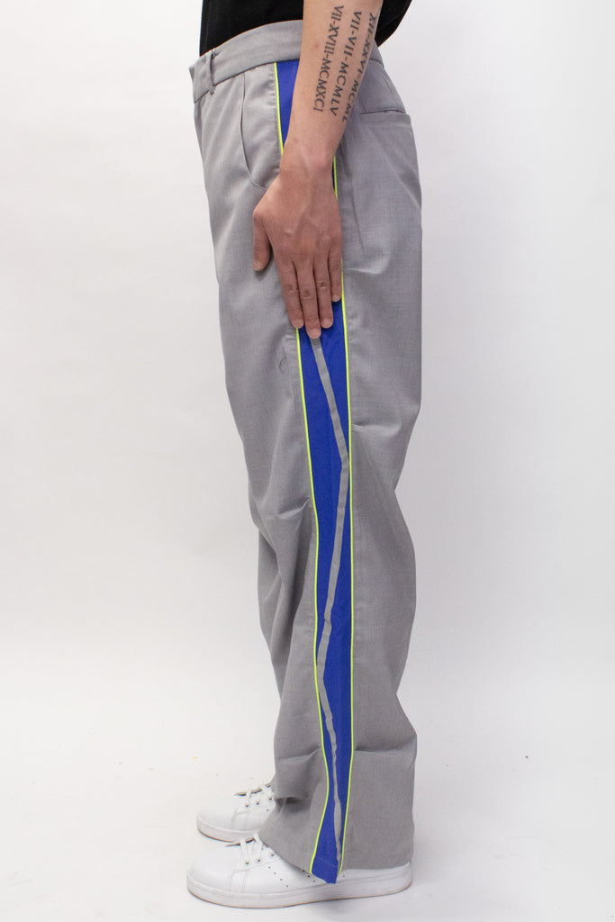 Ader Error Thunder Track Trousers In Grey