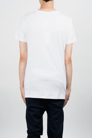 Les Benjamins Burki T-Shirt In White