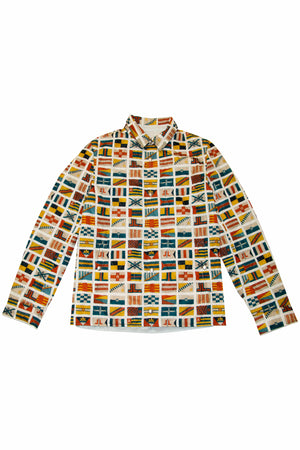 Load image into Gallery viewer, LANVIN Reversible Shirt Jacket In Blue - CNTRBND