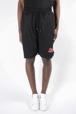Marcelo Burlon Santos Shorts In Black - CNTRBND