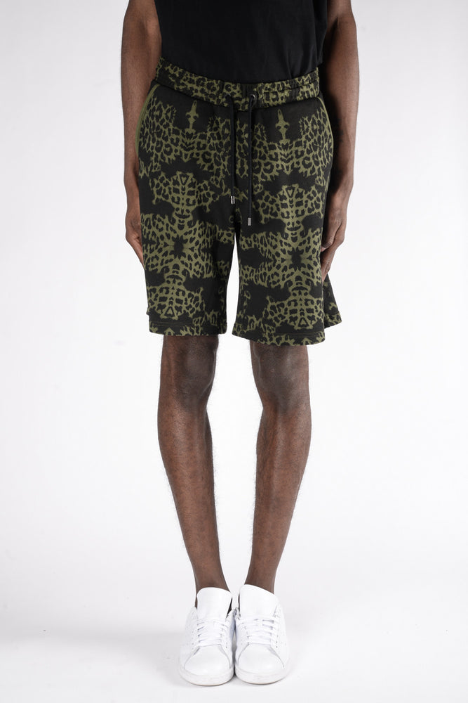Marcelo Burlon Alonso Shorts In Army - CNTRBND