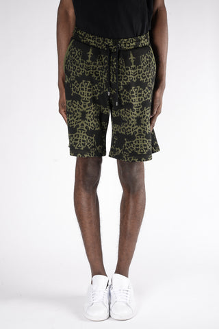 Marcelo Burlon Alonso Shorts In Army