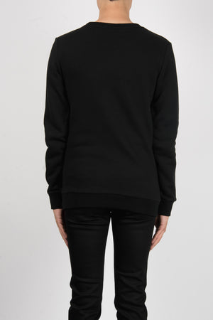 Load image into Gallery viewer, Marcelo Burlon Kappa Crewneck In Black