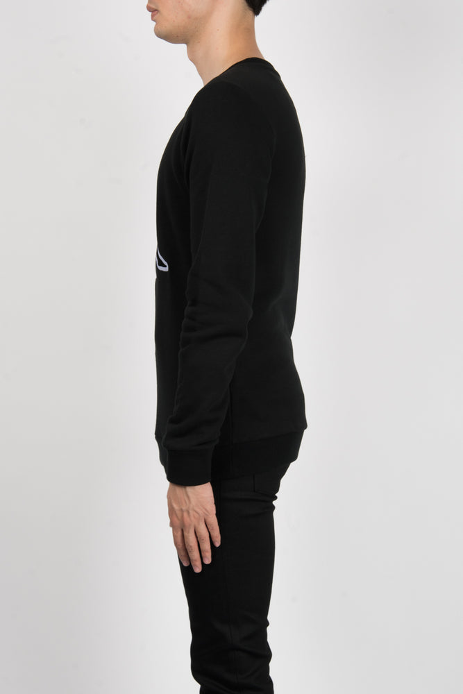 Marcelo Burlon Kappa Crewneck In Black