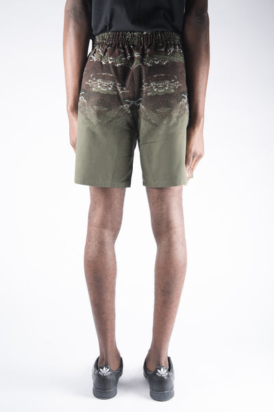 Marcelo Burlon Banes Allover Print Shorts