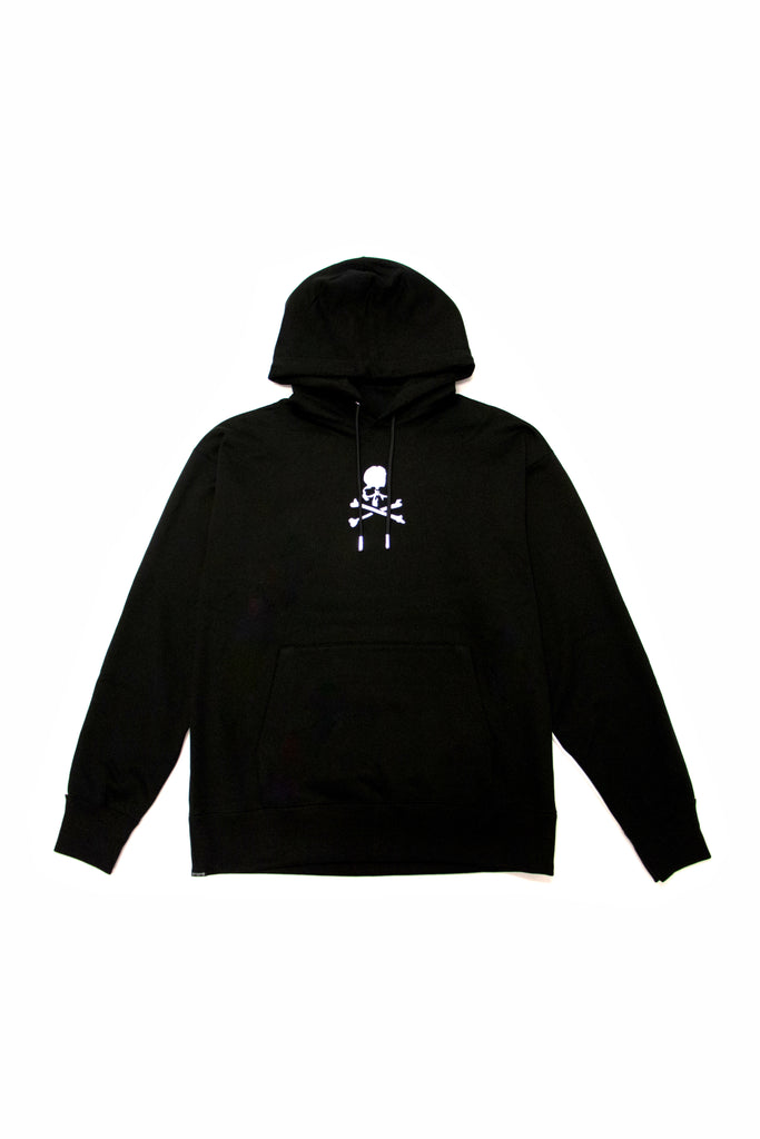 Mastermind World Shoulder Panel Hoodie In Black