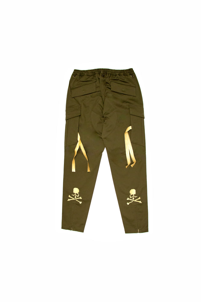 Load image into Gallery viewer, Mastermind World Cargo Pant In Khaki - CNTRBND