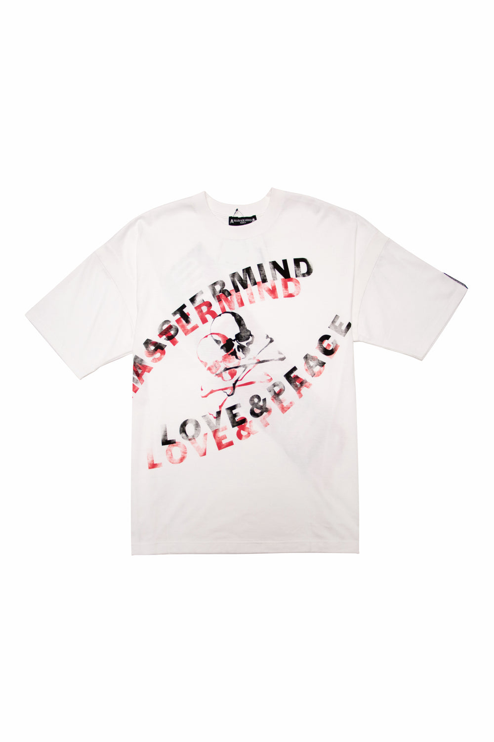 Mastermind World Love & Peace T-Shirt In White