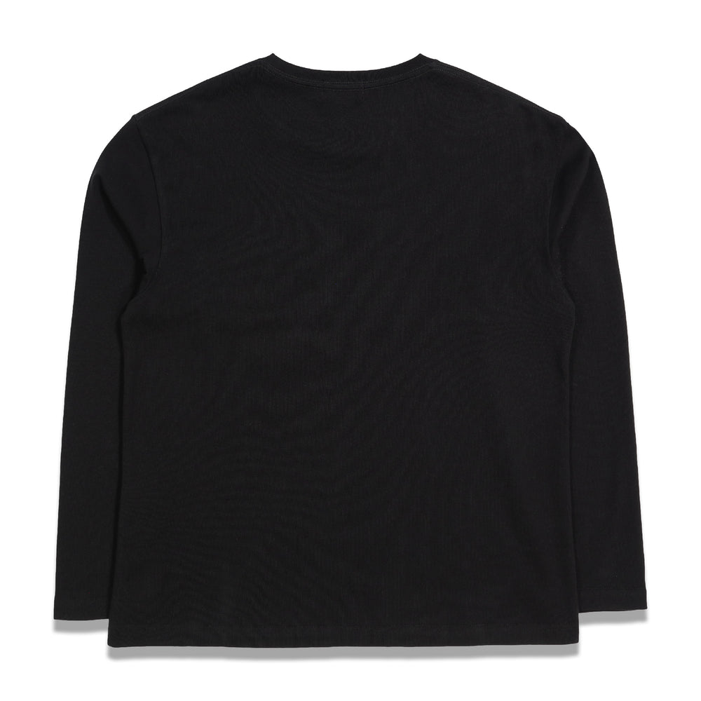 Second Layer Vete-Wave Vintage L/S T-Shirt In Black
