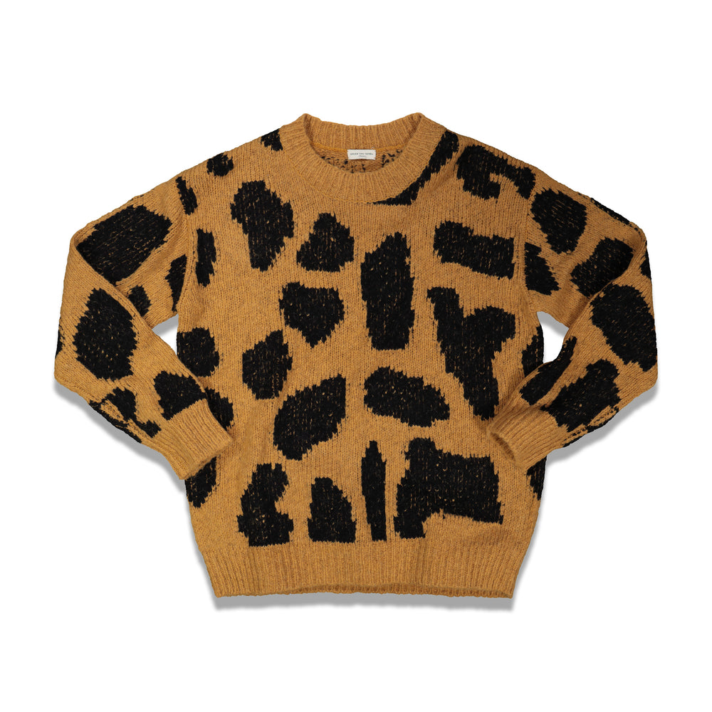 Dries Van Noten Maddox Sweater In Mustard