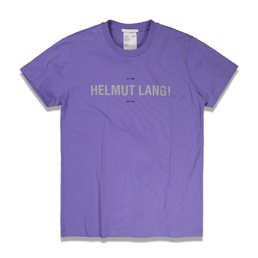 Load image into Gallery viewer, Reflective Logo Standard Tee In Purple - CNTRBND