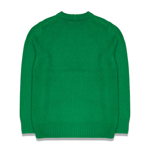 Helmutland Knitted Crew In Green