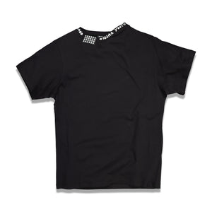 Solar Youth Uneven Neckline Flag T-shirt In Black - CNTRBND