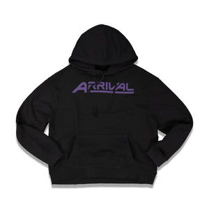 Regular Fit Printed Hoodie In Black - CNTRBND