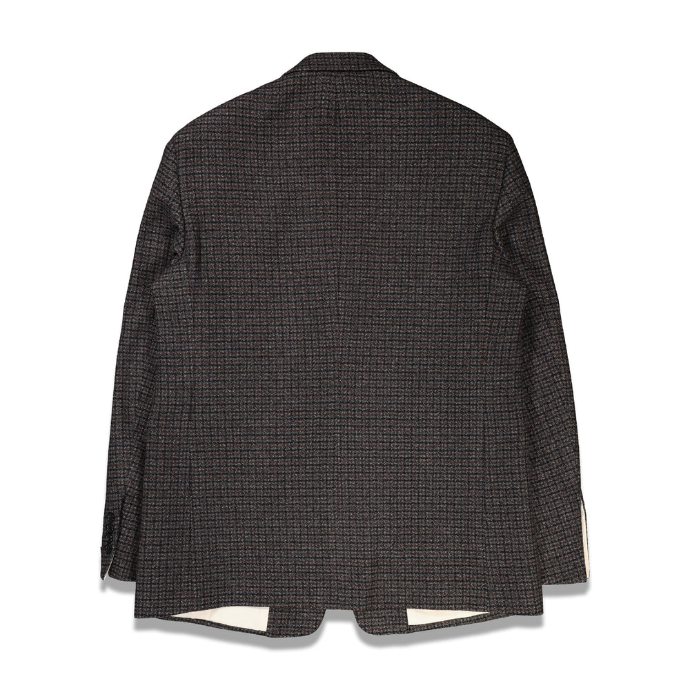 Straight Fit Blazer In Dk Brown - CNTRBND
