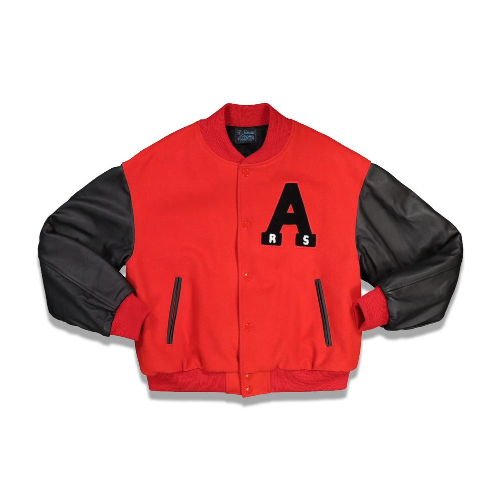 Short American Bomber In Red