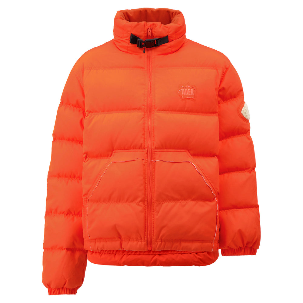 Load image into Gallery viewer, Cutting Line Down Jacket In Orange
