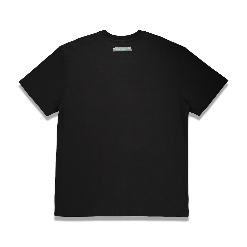 Front Logo Tee In Black