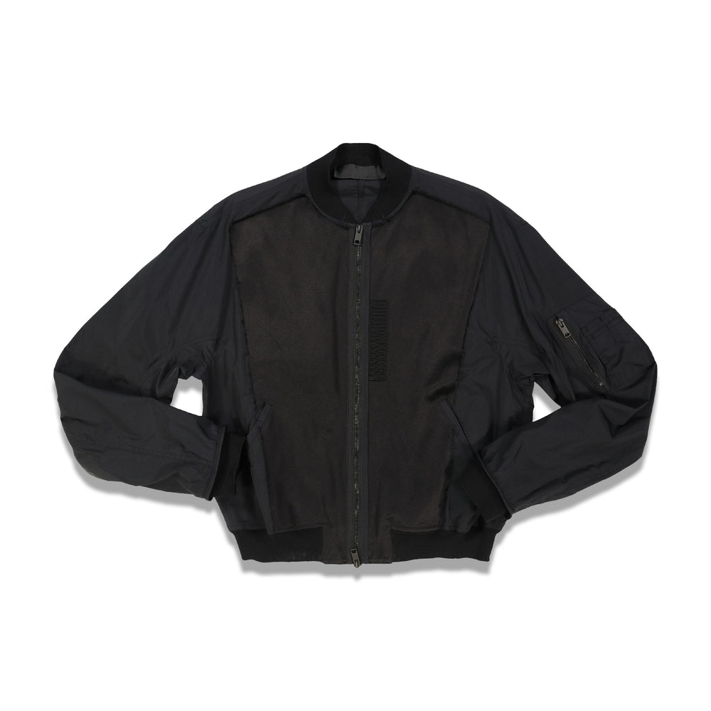 Maitre Bomber Jacket In Black - CNTRBND