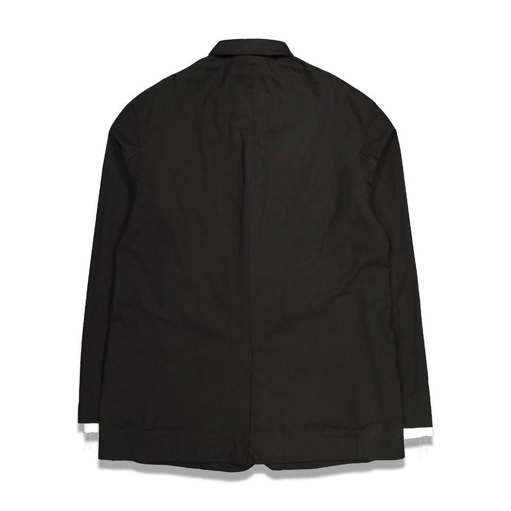 Gardone Embroidery Shirt Jacket In Black